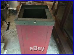 Mills Slot Machine Stand With Locking Bar & No Key Hi Top & Half Top Coin Op WOW