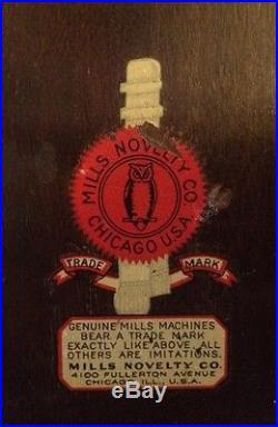 Mills Smoker Antique Slot Machine