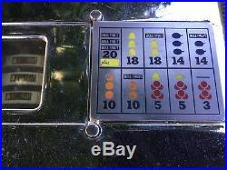 Mills Vest Pocket 422-C 20+ Jackpot Nickel Slot Machine 5 Cent Parts/Restore