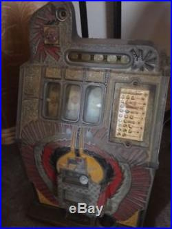 Mills War Eagle 25 Cent Slot Machine All Original