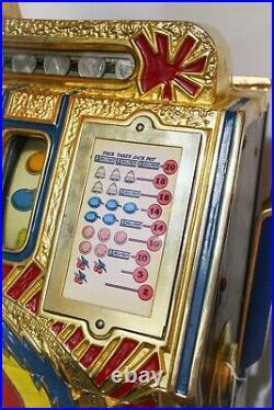 Mills War Eagle 25-cent Slot Machine 1970s