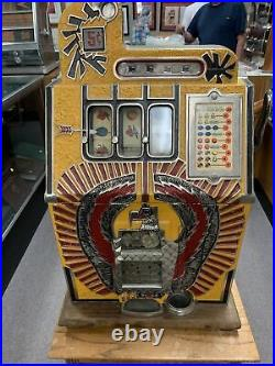 Mills War Eagle Slot machine Working Condition Very Rare Do Not Miss This One
