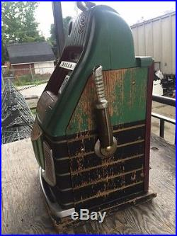 Mills Watermelon Slot Machine High Top 5 cents Working condition Deco