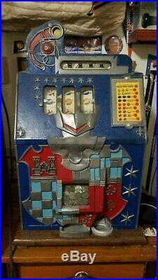 Mills antique nickel slot machine