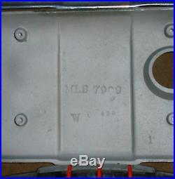 Mills antique slot machine trim parts, 777 trim, denom plates, NUGGET Trim