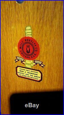 Mills slot machine 1940s vintage
