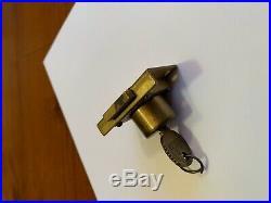 Mills slot machine lock