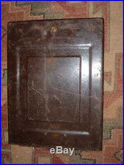 Mills slot machine original back door and lock no key