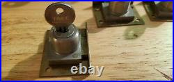 NOS YALE Slot Machine/ Trade Stimulator Locks 10 keyed alike in original box