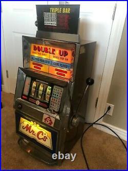 Nickel $0.05 5 Cent Vintage Bally Slot Machine 1960s Electronic