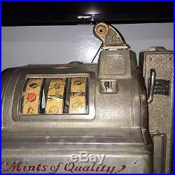 Nickel Jennings Mints of Quality Slot Machine