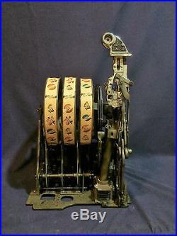 O. D. JENNINGS 5-cent Operator Bell Revamp Jackpot Slot Machine 1933