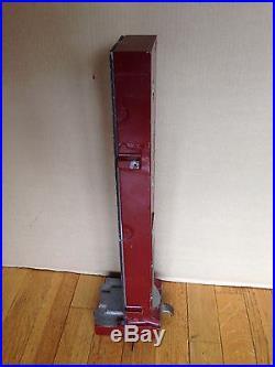 Original Antique Mills Slot Machine Side Vender