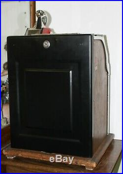 Old Antique 1930s MILLS 5c SKYSCRAPER Art Deco 3 Reel SLOT MACHINE -WORKS