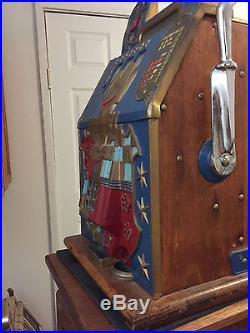 Original 1930 Mills Castle Front 10 Cent Slot Machine PRICE REDUCED