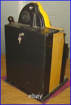 Original 1930s Watling Rol-a-top 5 Cent Twin-jackpot Slot Machine