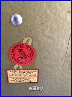 Outstanding All Original 1946 Mills 10 Cent Golden Falls Deluxe Slot Machine