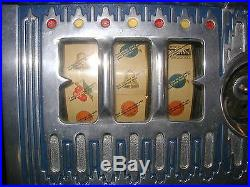 PACE COMET 5c COIN-OP SLOT MACHINE PRIVATE OWNER