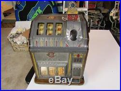 Pace 1 Cent Slot Machine, 1920's Thirty's Original Paint