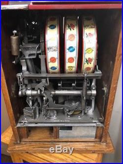 Pace 10 Cent 46 Comet Slot Machine Older Restoration