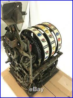 Pace 25 Cent Antique Mechanical Slot Machine Mechanism Mech
