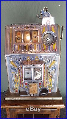 Pace 5 Cent Slot Machine