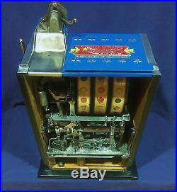 Pace ALL STAR COMET antique slot machine, 1936 WATCH VIDEO