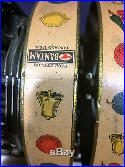 Pace BANTAM antique slot machine, 1930 WATCH VIDEO