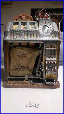 Pace Bantam 0ne 1 Cent Penny Slot Machine FREE SHIPPING
