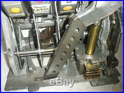 Pace Slot Machine 5 cent Mechanism Goose Neck refinished