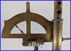 RARE 1886 Farrington Cigar Co. NY Smoke Cutter Grip Strength Test Arcade