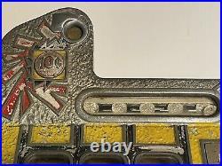 RARE 1930s Mills War Eagle 10 C Dime Slot Machine Original Paint Working NICE