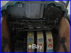 RARE Antique Mills Extraordinary Page Boy $. 25 Console Slot Machine, Original
