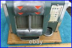 RARE Antique Mills Novelty Co Working One Cent Penny Coin Slot Machine JR 1B