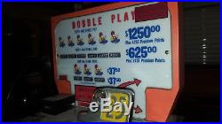 RARE Antique Pace Double Play 25c Slot Machine from Harrah's Club