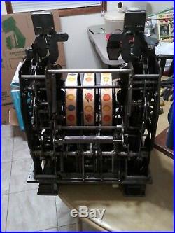 RARE Bally DOUBLE BELL 25/25 Mechanical Slot Machine circa 1930's
