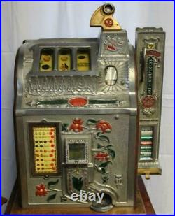Rare 1911 Mills Slot Machine Delicious Confection Side Candy Vendor Fast Ship