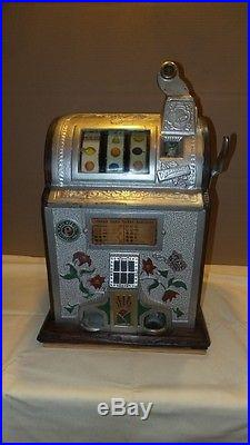 Rare Antique Pace Nickel Slot Machine Working, From Estate collection