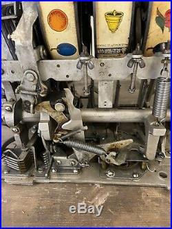 Rare Frank Polk Style Vintage Mills 5c Slot Machine
