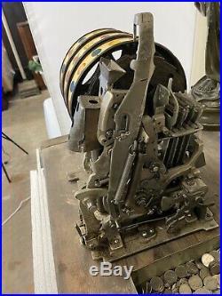 Rare Frank Polk Vintage Mills 5c Slot Machine