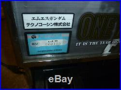 Rare Gundam Pachinko Slot Machine 1 One Year War Bandai Japan Import Game Robot