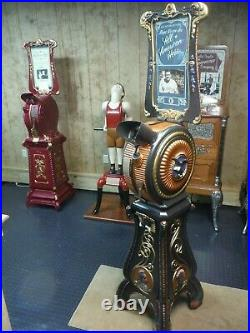 Rare Restored Museum Quality Babe Ruth Indian Mutoscope