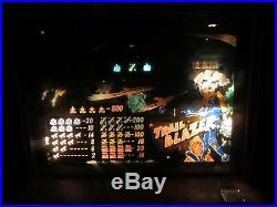 Rare Vintage 10 Cent Slot Machine, Games Inc. 1960 Trail Blazer Space Theme