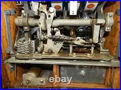 Restored 1937 Mills Castle Front 25c Quarter Slot Machine CLEAN