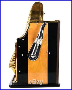 Rol-A-Top -Gorgeous 1930s Gold Plated 10c Slot Machine