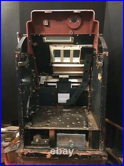 SEGA Diamond 3 Star Mechanical Slot Machine Case Cabinet Antique