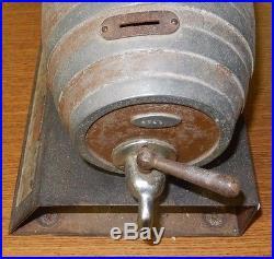 STEPHENS MAGIC BEER BARREL TRADE STIMULATOR SLOT MACHINE ORIGINAL 1934