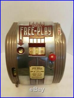 SUPER 1930's 1940's FREE PLAY TRADE STIMULATOR. LOOK