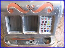 SWEETHEART QT 5 cent SLOT MACHINE- Mills Novelty Co. BEAUTIFUL MACHINE