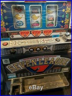Seven League Coin Game Slot Machine
